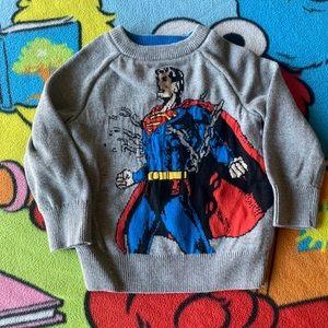 Superman Crew Neck Sweater